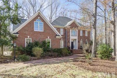 Chapel Hill Single Family Home Contingent: 102 Quarry Place