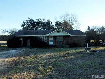 Johnston County Single Family Home Contingent: 3294 Us 70 Highway