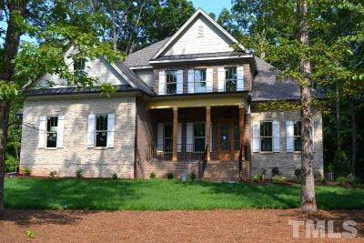 Raleigh Single Family Home Contingent: 12216 The Gates Drive