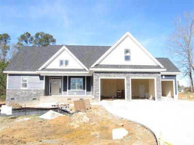 Clayton Single Family Home Contingent: 50 W Saddle Court