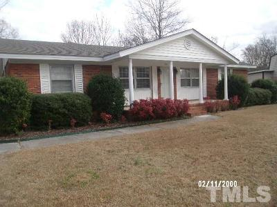 Dunn NC Single Family Home Pending: $134,900