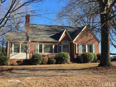 Creedmoor Single Family Home Pending: 412 W Lake Road