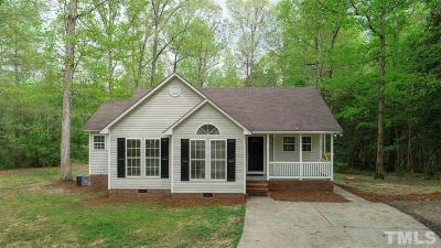 Wake County Single Family Home For Sale: 4732 Hidden Hollow Lane