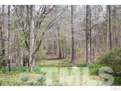 Chapel Hill Residential Lots & Land For Sale: 817 Tinkerbell Road