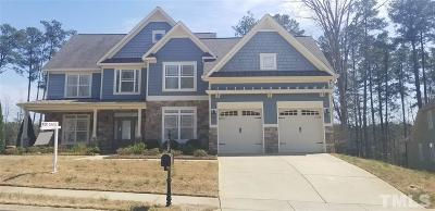 Garner Single Family Home For Sale: 59 Morning Mist Drive