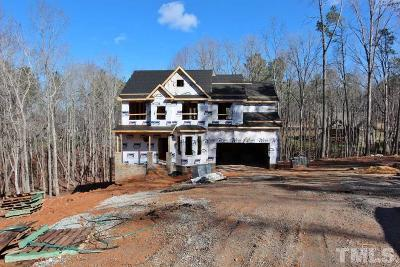 Wake Forest Single Family Home Pending: 1354 Red Bud Court