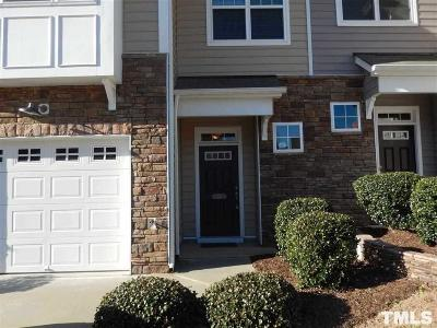 Morrisville Townhouse For Sale: 208 Suffolk Green Lane