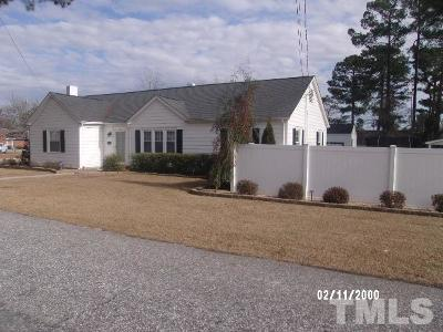 Dunn NC Single Family Home Pending: $229,900