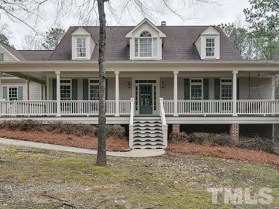 Pittsboro Single Family Home Contingent: 112 Park Pointe Drive