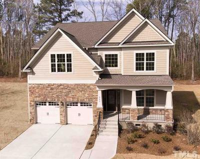 Cary Single Family Home For Sale: 321 Gartrell Way #Lot 18