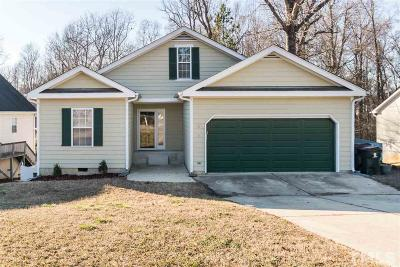 Apex Single Family Home Contingent: 818 Shackleton Road