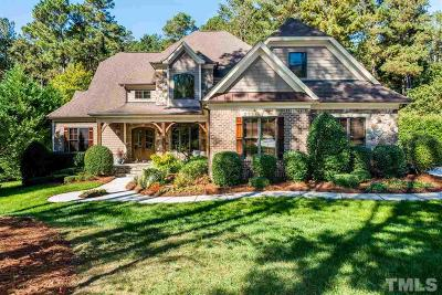 Raleigh Single Family Home For Sale: 12221 The Gates Drive