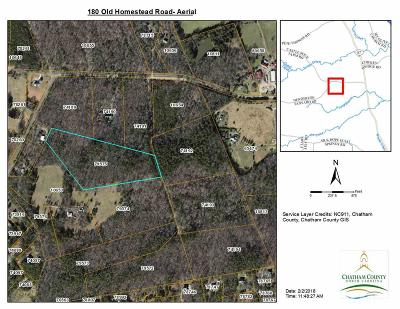 Pittsboro Residential Lots & Land For Sale: 180 Old Homestead Road