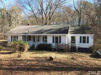 Apex Single Family Home For Sale: 3033 Evans Road