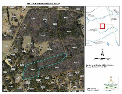Pittsboro Residential Lots & Land For Sale: 314 Old Homestead Road