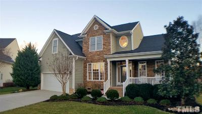 Wake Forest Single Family Home Contingent: 9700 Corktree Court