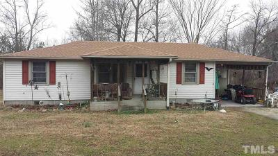 Creedmoor Single Family Home For Sale: 2722 Walters Road
