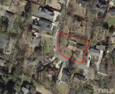 Wake County Residential Lots & Land For Sale: 3226 Oak Grove Circle