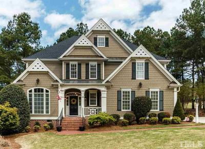 Wake Forest Single Family Home For Sale: 1205 Crozier Court