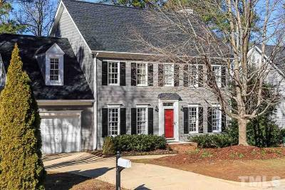 Cary Single Family Home Contingent: 204 New Rail Drive