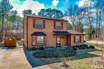 Wake County Single Family Home Contingent: 2409 Village Grove Road