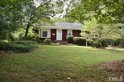 Carrboro Single Family Home For Sale: 613 W Main Street