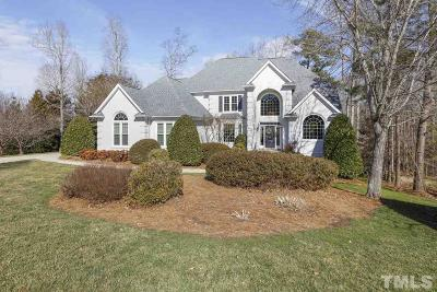 Cary Single Family Home Contingent: 116 Bosswood Court