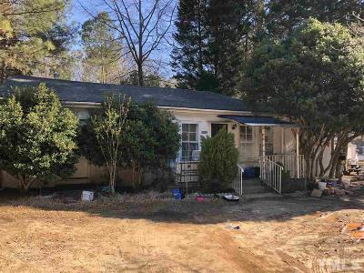 Wake County Single Family Home For Sale: 2008 W Millbrook Road