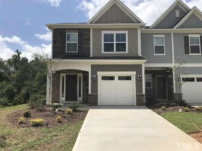 Apex Townhouse For Sale: 143 Writing Rock Place #73