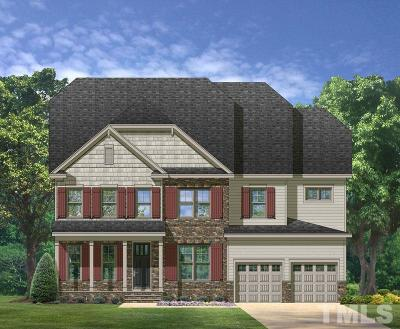Wake Forest Single Family Home Contingent: 8808 Sprouted Lane #19