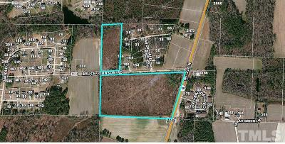 Harnett County Commercial Lots & Land For Sale: 45 Bruce Johnson Road