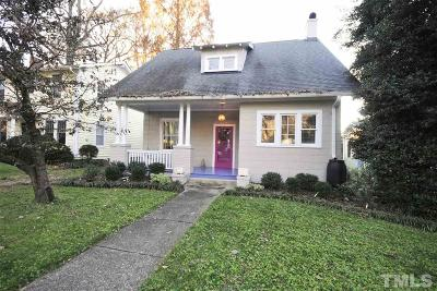 Raleigh Single Family Home For Sale: 2003 McCarthy Street