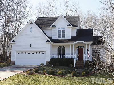 Wake Forest Single Family Home Contingent: 8515 Parlange Woods Lane