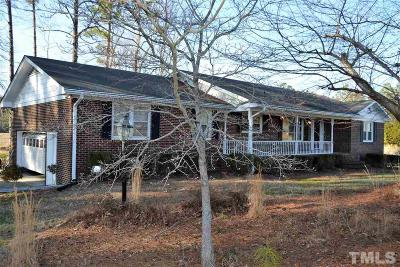 Wake Forest Single Family Home Contingent: 11645 Louisburg Road