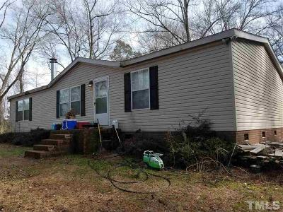 Johnston County Manufactured Home For Sale: 1320 Old Dam Road