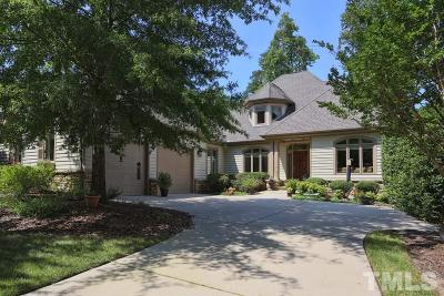 Chapel Hill Single Family Home For Sale: 19204 Stone Brook