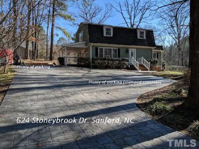 Sanford Single Family Home For Sale: 624 Stoneybrook Drive