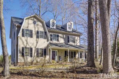 Chapel Hill Single Family Home For Sale: 107 Quailview Drive