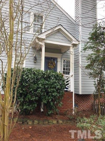 Raleigh Townhouse Contingent: 2807 Bedfordshire Court