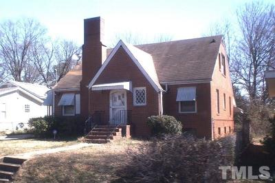 Raleigh Single Family Home Pending: 1103 Holmes
