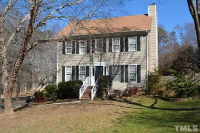 Wake Forest Single Family Home For Sale: 610 Woods Mill Circle