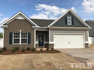Sanford NC Single Family Home For Sale: $207,945