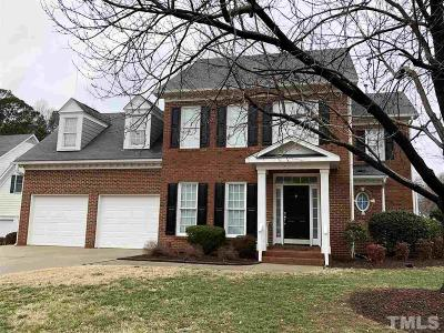Cary Single Family Home Contingent: 100 Selly Manor Court