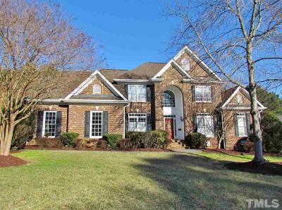Raleigh Single Family Home For Sale: 12408 Canolder Street