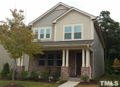 Morrisville Single Family Home For Sale: 433 Liberty Hill Pass