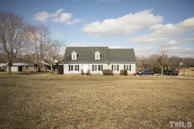Spring Hope Single Family Home For Sale: 77 Arthur Wilder Road