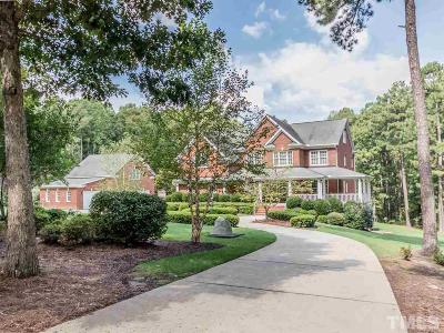 Chatham County Single Family Home For Sale: 90 Indian Creek Lane