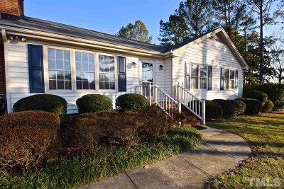 Apex Single Family Home Contingent: 8609 Manns Loop Road