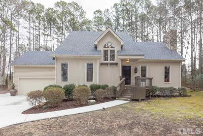 Cary Single Family Home Contingent: 10701 Bexhill Drive