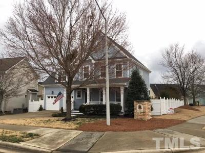 Knightdale Single Family Home For Sale: 1019 Village River Drive